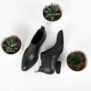 $50 Off $200 Alexander Wang Gabi Tilt-Heel Leather Boot @ Neiman Marcus