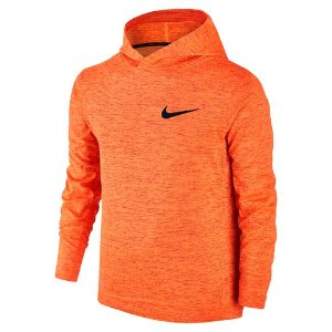 Nike Boys' Dri-FIT Hooded Long Sleeve Training Top | Academy
