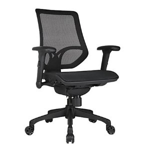 WorkPro 1000 Series Mid Back Mesh Task Chair Black by Office Depot & OfficeMax