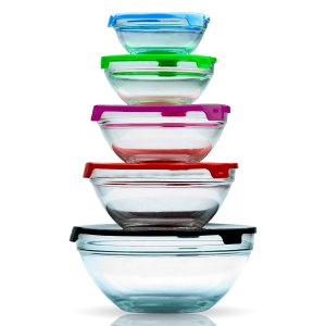 Micro World 10-Piece Multicolored Storage Bowl Set | zulily