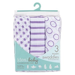 ideal baby by the makers of aden + anais 3 Piece Swaddle, Cherub