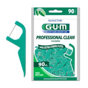 GUM® Eez-Thru® Flossers, 90 ct. Mint - Official Site for GUM® Eez-Thru® Flossers