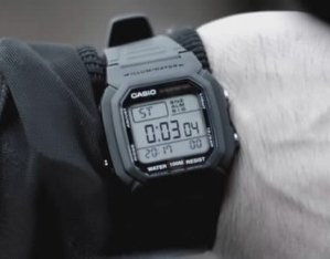 Casio Men's W800H-1AV Classic Digital Sport Watch