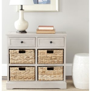 Safavieh Cape Cod 6-Drawer Grey Storage Unit - Free Shipping Today - Overstock.com - 14484966