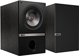 KEF Q100 Bookshelf Speakers (Pair - Black Oak)