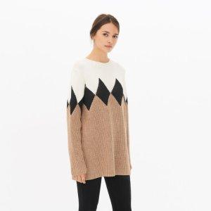 Vladim Sweater 女士拼色毛衣