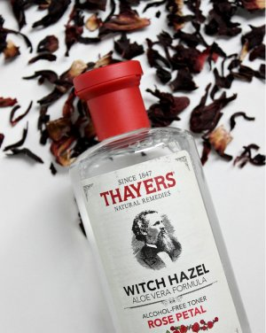 $7.45 Thayers Alcohol-Free Rose Petal Witch Hazel with Aloe Vera, 12 Fluid Ounce