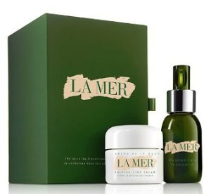 $395($530 Value) + 17 Free Samples + $25 Rewards Card with La Mer The Crème and Concentrate Collection @ Bloomingdales