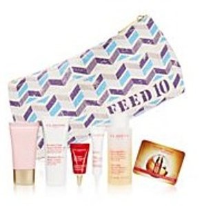 Free 7-pc Gift Set with Clarins Purchase of $99 @ macys.com