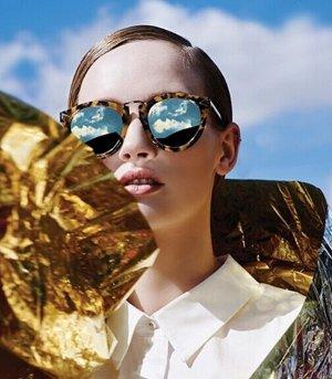 From $90 KAREN WALKER Sunglasses @ Barneys Warehouse