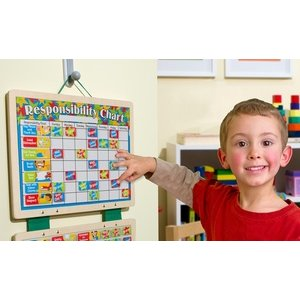 Melissa & Doug Magnetic Responsibility Chart or Calendar