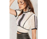 Nasty Gal World Turning Crochet Lace Top | Shop Clothes at Nasty Gal!