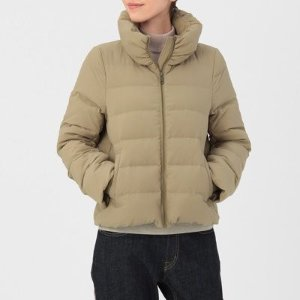 Women French Down Blouson
