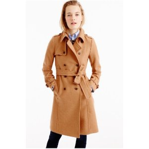 Icon trench coat in Italian wool cashmere
