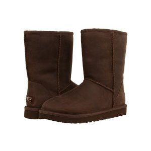 UGG Classic Short Leather Brownstone - Zappos.com Free Shipping BOTH Ways