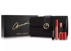 $75.00 Giorgio Armani Beauty Lip Holiday Set @ Neiman Marcus
