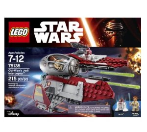 Lowest price! $19.88 LEGO Star Wars Obi-Wan's Jedi Interceptor 75135