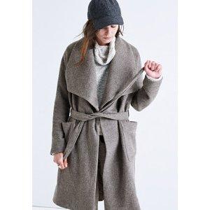 delancey blanket coat