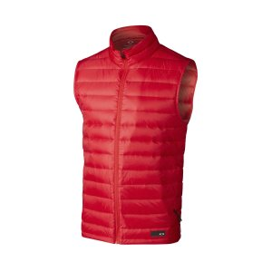 Oakley Icon Lightweight Down Vest in RED LINE