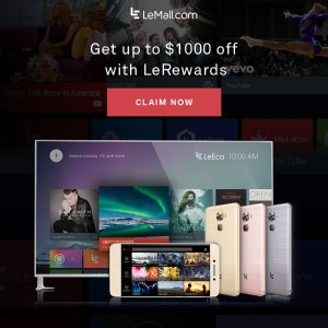 Use LeRewards and Save Up To $1000!Live NOW! LeRewards Flash Sale
