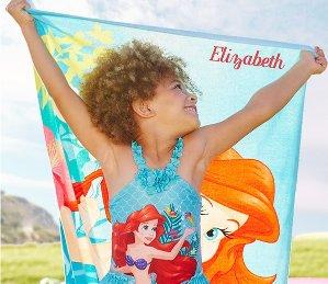 $12 With Free PersonalizationBeach Towels @ disneystore