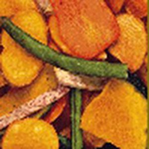 Dried Vegetable Chips 6 oz Container