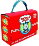 $6 Thomas and Friends: My Red Railway Book Box (Bright & Early Board Books)