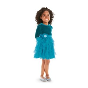 Teal Tidings Dress for Girls