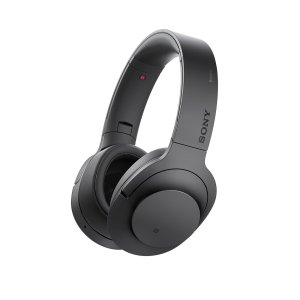 $199.99 Sony H.ear on Wireless Noise Cancelling Headphone, Charcoal Black (MDR100ABN/B)