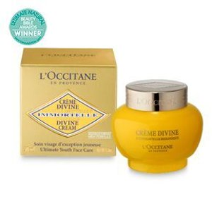 Free Full Size Cleanser with Divine Cream Purchase @L'Occitane