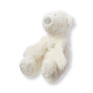 Layette Ivory Plush Polar Bear Toy at JanieandJack