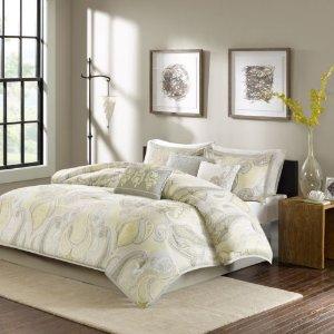 Extra 20-25% Off + Kohl's CashMadison Park 7-piece Bed Set @ Kohl's