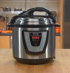 $49 Harvest Cookware Electric Original Pressure Pro 6-Quart Pressure Cooker, Black