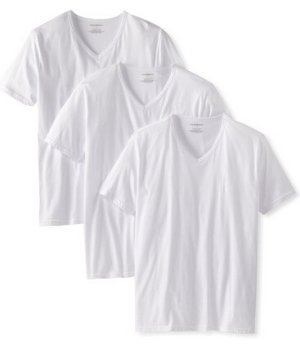 Emporio Armani Men's 3-Pack Regular Fit V-Neck T-Shirt