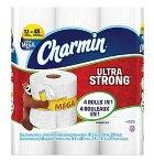$9.99 Charmin Ultra Strong Toilet Paper 12 Mega Rolls