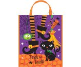 Large Plastic Spooky Boots Halloween Trick-or-Treat Bag, 15