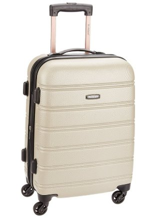 Rockland Melbourne 20-Inch Expandable Abs Carry On Luggage