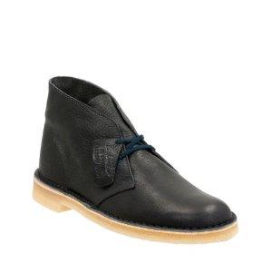 Desert Boot Navy Leather