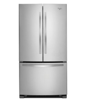 $997.20Whirlpool 25.2 cu. ft. French Door Refrigerator in Monochromatic Stainless Steel