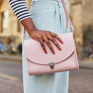 Damson Large Push Lock | The Cambridge Satchel Company