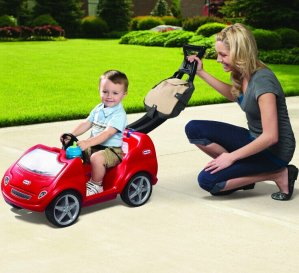 Little Tikes-Mobile Ride-On Push Car, Red