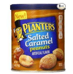 $8.29Planters 焦糖咸脆烤花生仁-8罐