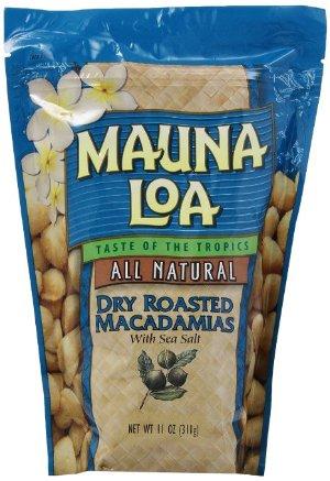 $15.03 Mauna Loa Macadamias, Dry Roasted with Sea Salt, 11-oz