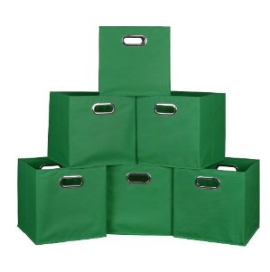 Lowest Price Ever Niche Cubo Foldable Fabric Storage Bins (Set of 6)