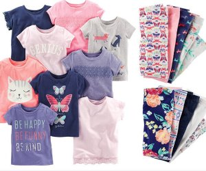 $4.50 and up Tees, Leggings, or Joggers Sale @ Carter's