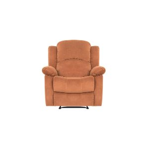 Fox Traditional Microfiber Recliner Chair - Sofamania