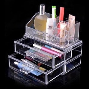 Luxury Acrylic Cosmetic Organizer Makeup Box