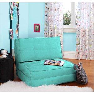 $75.07(原价$99.99) 包邮your zone 可折叠懒人沙发 绿色