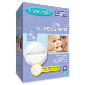 $21.82 + Free Shipping Lansinoh Stay Dry Disposable Nursing Pads, 60 Count Boxes (Pack of 4)