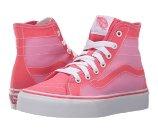 Vans Kids Sk8-Hi Decon (Little Kid/Big Kid) (Ombre Fade) Camellia Rose/Pink - 6pm.com